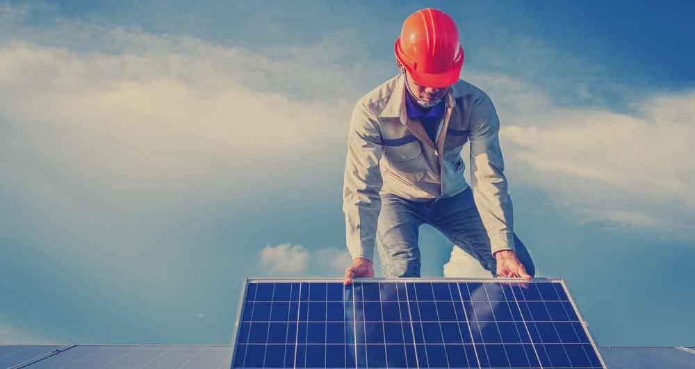 solar panel installation north west